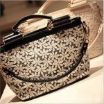 HIGH QUALITY SHOULDER BAG COVERED WITH LACE [240]