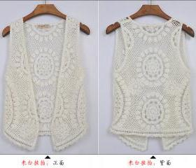 FLOWER PATTERN LACE BLOUSE 57