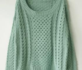 VINTAGE GRANDMA KNITTED SWEATER 59