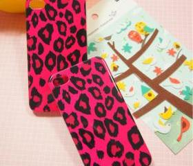 CHARMING ROSE SEXY LEOPARD IPHONE 4/4S CASE 60