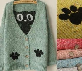JAPANESE CUTE CAT CARDIGAN 72