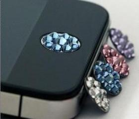 IPHONE/IPAD RHINESTONES HOME BUTTON STICKER [166]