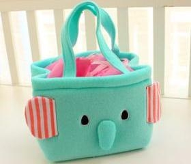 MINT GREEN ELEPHANT LUNCH BOX BAG [217]