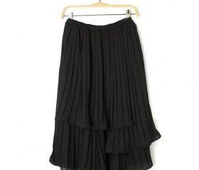 RUFFLED CLASSIC HIGH WAIST CHIFFON DRESS [291]